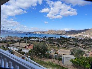 Vista maravillosa de la Bahía de Mazarrón