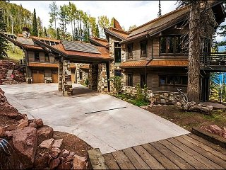 Next To Iron Mountain Express Chair Lift - Multiple Fireplaces and Multiple Decks (2160), Park City