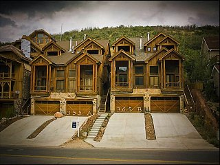 Timber Accents Throughout - Walk to Main Street (24643), Park City