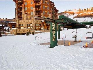 Gorgeous Escala Lodge Condo - Convenient Ski-In/Ski-Out Access (24953), Park City