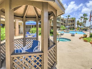 Wonderful dog-friendly condo with shared pool and hot tub close to the beach!