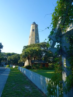For an adventure, visit Bald Head Island by ferry. You will need to rent a golf cart. Go to #41!