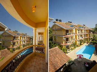 Simply Offbeat 2BHK Apt in Beach Side Resort Goa, Majorda