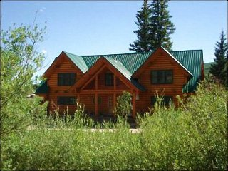 Riverside Log Cabin Home - Located on Three Acres of Land (1193), Crested Butte