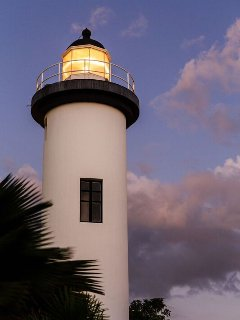 Beautiful light house with a lovely little park is a quick drive away.