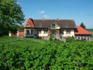Gaestehaus der Dylka Ranch in Westpommern/Polen