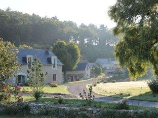 Gite 3 *, entre Saumur et Angers, accessible personnes a mobilite reduite.
