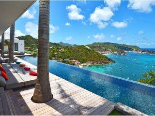 St Barts Utopian Luxury Villa with Pool and Breathtaking Ocean Views