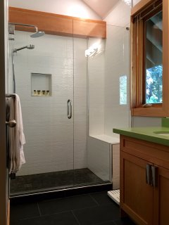 Master Ensuite with Heated Floors