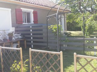 Maison T2 Meublé avec jardin et parking privés
