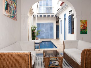 Beautiful 4 Bedroom House in the Old City, Cartagena