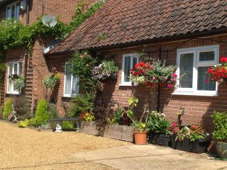 High quality self catering secluded holiday annex, Norwich