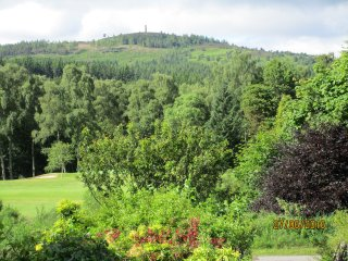 Royal Deeside.  Central Banchory House
