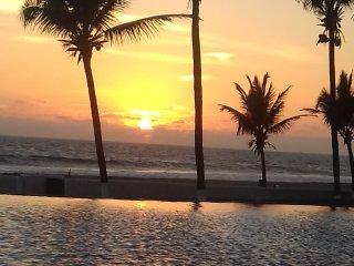 Hermosa Villa a pie de playa paradisiaca