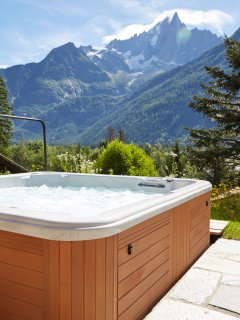 Marmotte Mountain Eco Lodge - jacuzzi