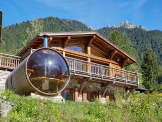 5 bedroom luxury chalet - best views in Chamonix