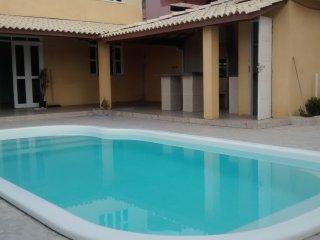 Casa de Praia 4/4 em Arembepe, Mobiliada, Piscina