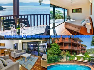 NEWLY RENOVATED REFURBISHED 16 The Casuarina - 3 Bedroom House With 180 Degree, Hamilton Island