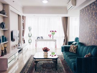 Cozy bright 2 bedrooms apartment, Jakarta