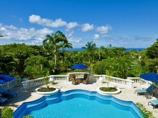 Luxury 7 bedroom Barbados villa. Magnificent views of the ocean!