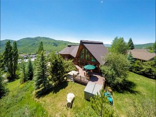 Two Great Rooms, Deck with TWO Hot Tubs, Pool Table, & Full Bar - Panoramic Views of Both Ski Mountains (2628), Steamboat Springs