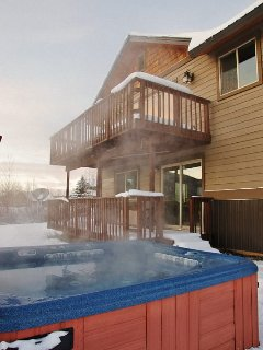 Large Hot Tub, right outside