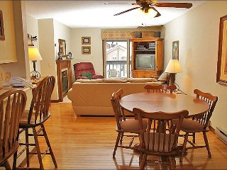 Hardwood Foors, Leather Couch, Recliner - Walk or Ride to the Slopes (4392), Steamboat Springs