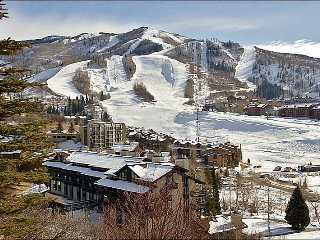 2 Amazing Bathrooms, Vaulted Ceilings - Virtually Ski In Ski Out - 100 Yards to Slopes (4545), Steamboat Springs