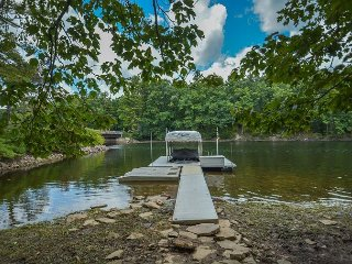 Private & Elegant Lakefront home with private dock!