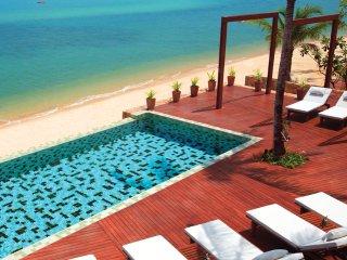 Luxurious Beach-front villas in Koh Samui for 2, Bophut
