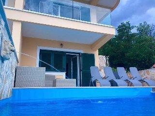 Villa Sabine/Appartement Brioni bei Opatija, Medveja