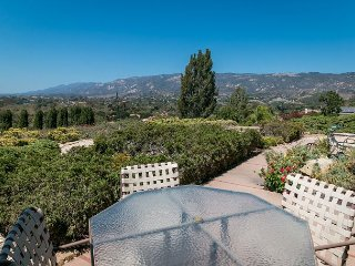 1-Acre 3BR Hilltop Oasis w/ Ocean Views, 10 Mins to Santa Barbara & Beaches