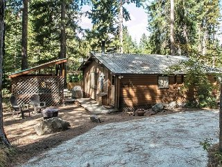 "Cozy ""Peace of Pine,"" with Wi-Fi, Hot Tub and pet friendly, close to it all"