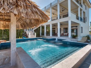 Laguna Gecko 4 Bedroom, 4 Bathroom Villa with view of Mayan Mountains