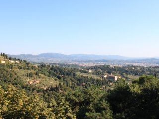 Villa with panoramic view of Florence