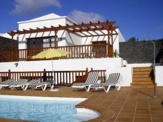Vacaciones ideales en magnífica villa de Lanzarote