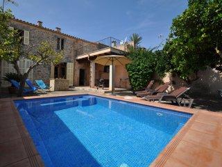 Casa de Pueblo Mandarina 4369 Santa Margalida con piscina
