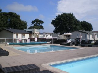 Needles View, Plot 78, Sandhills Holiday Park, Mudeford, Christchurch, Dorset