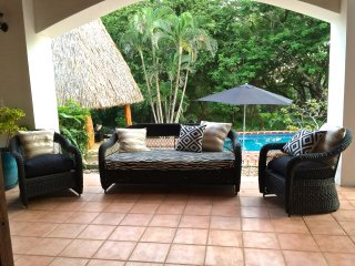 Directly on Beach! Private Beachfront Cabanas w/Lg Pool, Monkeys, Clean +Awesome