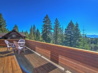 NEW! 4BR Truckee Cabin w/Gorgeous Mountain Views!