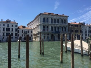 Grand Canal Rialto Palace With Lift