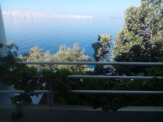Apartment directly on the sea in a peacefull place, Sveti Juraj