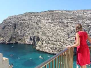 Gozo Bellevue Homes - Saghtar seaview apartment, Xlendi