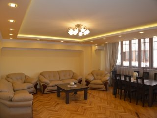 three bedroom apartment with a beautiful view, Yerevan
