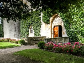 Chateau de Saint-Amant in Auvergne