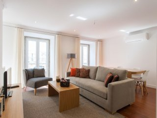 Spacious Sao Bento Luxus apartment in Santos with WiFi, airconditioning
