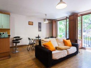 Mercado Duplex apartment in El Carmen with WiFi, airconditioning & balkon.