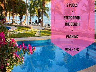 Riviera Maya Haciendas - Studio Steps From Beach, Puerto Aventuras