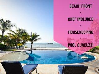 Riviera Maya Haciendas - Villa Nautica  BeachFront, Puerto Aventuras