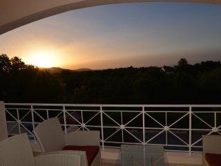 Sunrise from back balcony